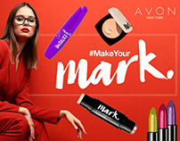 Avon make your mark banners