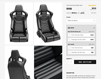Corbeau Seats Redesign