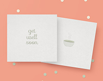 Little Cards - get well soon