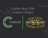 Golden Ring GYM | Graphic Designs
