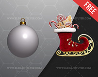 Christmas Pack – Free 3d Render Templates