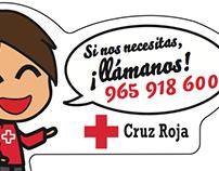 Imán Cruz Roja