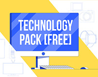 Technology Pack (FREE OUTLINE VERSIONS)