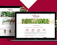 Vignobles Levet - Webdesign
