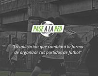 UI kit - Pase a la red - Fútbol app