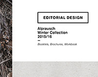 Editorial Design – Alprausch Winter 15/16