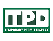 Temporary Permit Display Branding