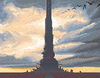 The Dark Tower (pixel art)