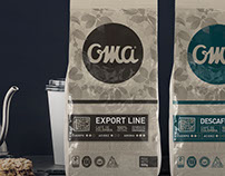Oma Coffee - Export Line Packagings