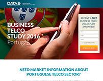 DATAe - Telco Study 2016 - Portugal