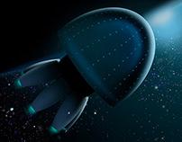 gigantic spaceship