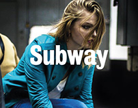 Fran Cuir Subway Photoshoot
