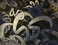Arabic Letters Garden