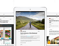 Paperfold - Email for iPad