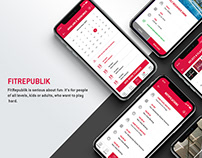 Fit republik Booking app