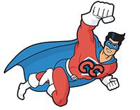 Captain Candy logo design