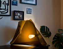Plexiglass light sculpture