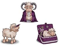Der sheepcrafts-Schafstall