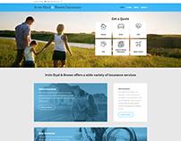 Irvin-Dyal WordPress Design