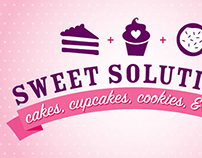Sweet Solutions logo and business card