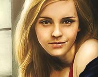 Emma Watson Digital Portrait