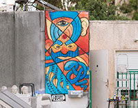 'Concetration' Mural