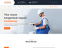 Hmend - Home Maintenance, Repair Service HTML Template