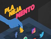 Campanha Weecom - 2017 - Ilustrações Isométricas