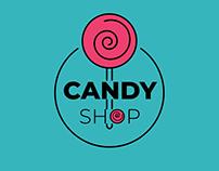 Candy Shop Bahia, Logo and Branding