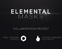 Elemental Masks - Vector project
