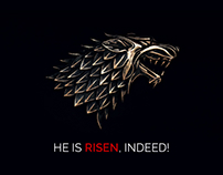 He is risen. Jon Snow is Back! Rejoice!