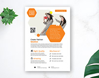 Free Proffesional Fashion business Flyer Design