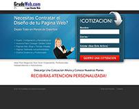 Squeeze Page Diseño Web V1 - Todo el mundo