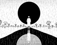 BTS - RM solo 'forever rain' MV - ARTWORK