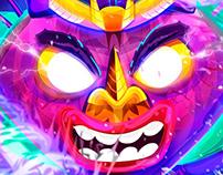 Totem Monster Oscar Creativo