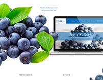 Blueberry seeds web-catalogue