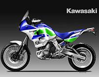 KAWASAKI KLR 700 TENGAI