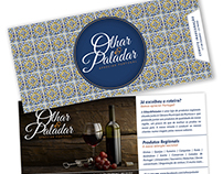 OLHAR & PALADAR - Grocery store Branding&Decor by Éfe