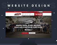 Tampabay Plumbers Website Design