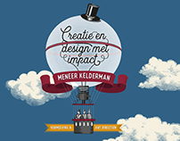 Huisstijl en website - Meneer Kelderman