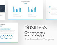 FREE BUSINESS STRATEGY POWERPOINT TEMPLATE