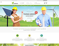 Template Ecology wordpress