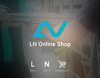 Logo Design for LN online Shop