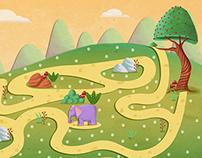 Children's Magazine/Game