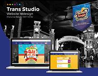Trans Studio Website Redesign