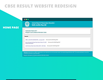 CBSE Result Site Redesigned