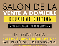 « Salon de la vente à domicile - 2016 » - Flyer