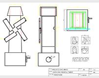 Projeto em AutoCad 2D 3D - Trabalho Acadêmico