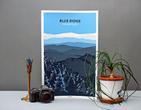 Bearings Blue Ridge Mountain Prints