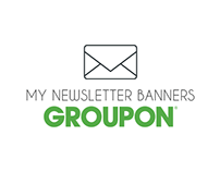 Groupon: Newsletter Banners